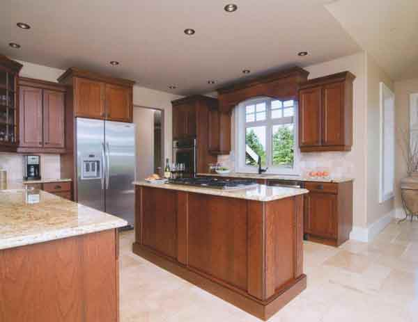 Gallery best of the west kitchen cabinetry oc for Butternut kitchen cabinets